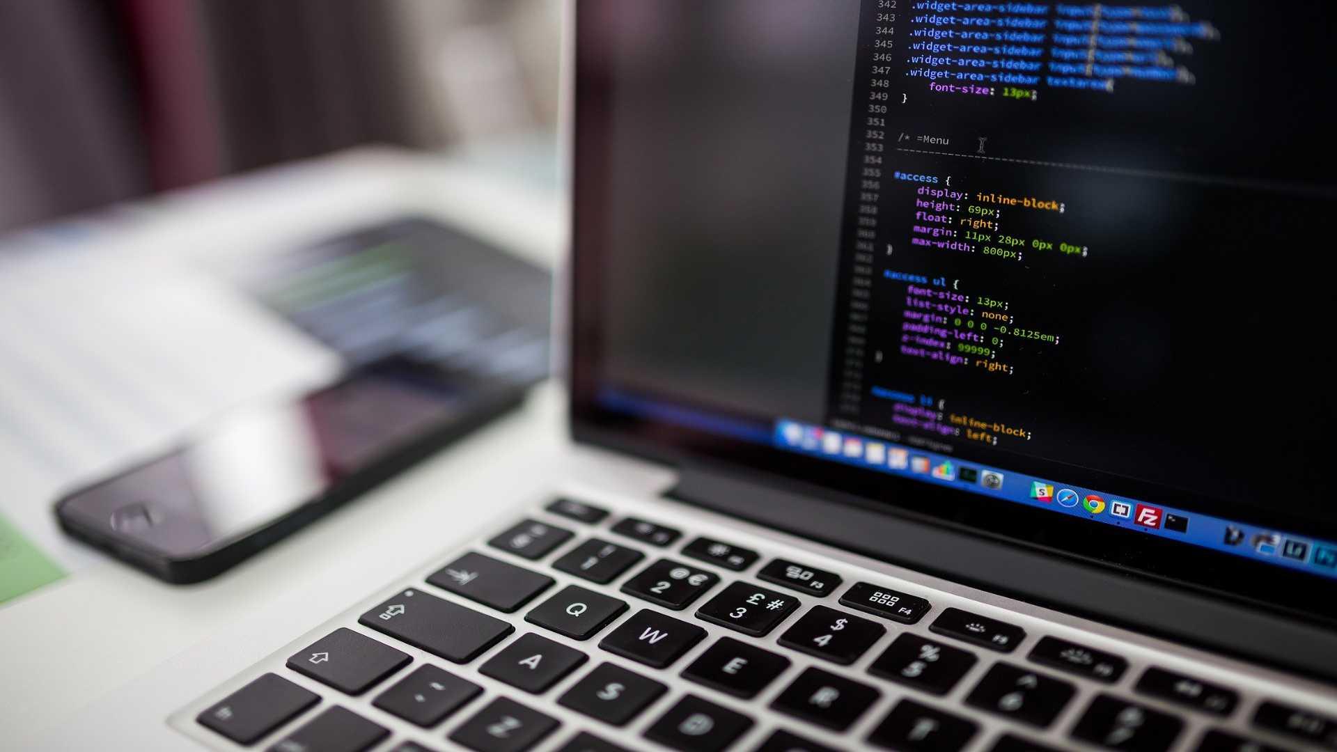 laptop wordpress code