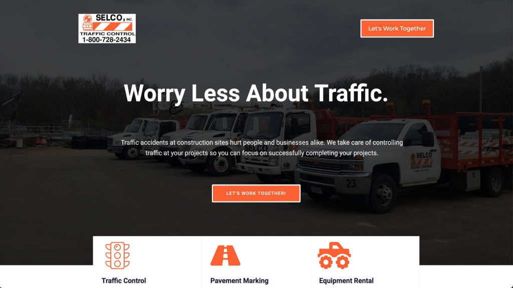 selcotrafficcontrol.com website built and designed by xApption and Julius Launhardt.